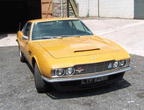 1972 Aston Martin Dbs V8 1972 Aston Martin Dbs V8 Bahama