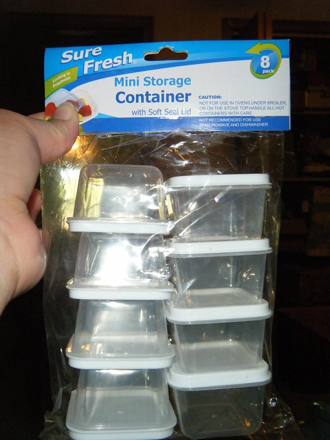 Sure Fresh Mini Storage Containers Purchased At Dollar