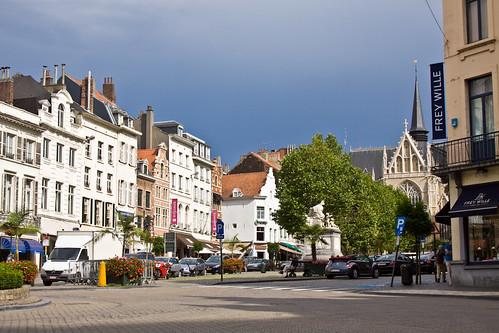 Brussels place du grand sablon i harsten flickr for Le comptoir du meuble bruxelles