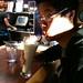 @chipmnk having a rootbeer milkshake
