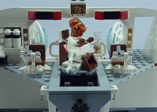 Star Wars Lego 7754 Home One Mon Calamari Star Cruiser