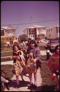 Youngsters Going Home from School at Great Kills on Staten Island 05/1973 | by The U.S. National Archives