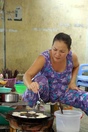 Making Banh Khot - Cycling In Saigon | by The Hungry Cyclist