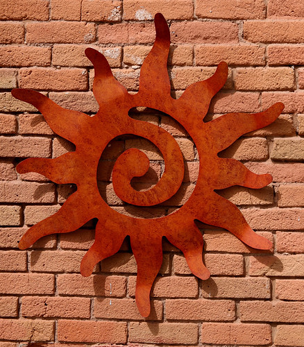 Metal Sun Wall Art This Metal Sun Wall Hanging Is Cut