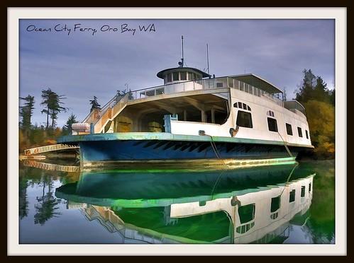 Ocean City Ferry Anderson Island