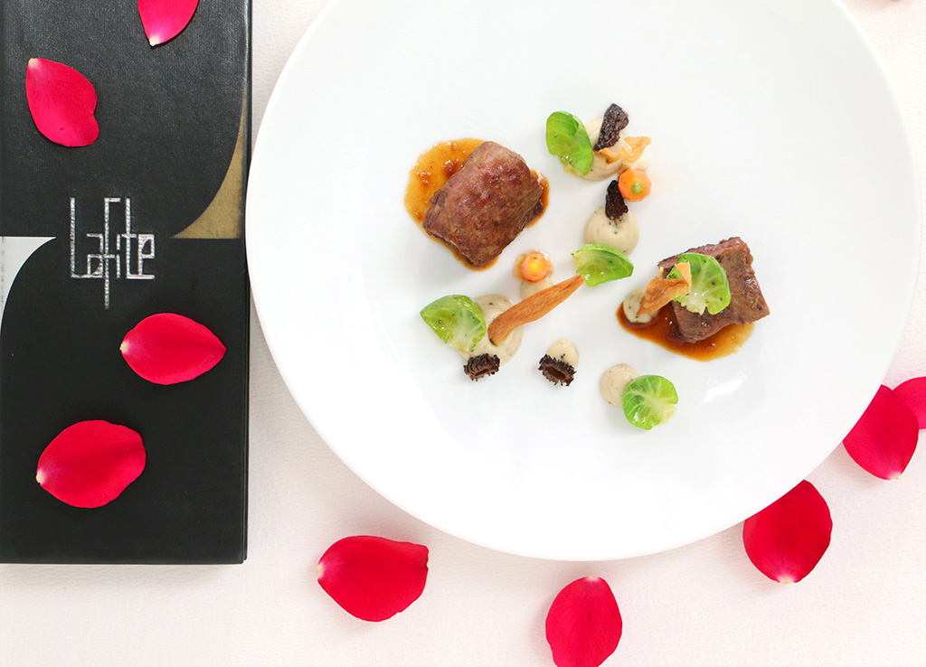Valentine's Day Dinner at Lafite