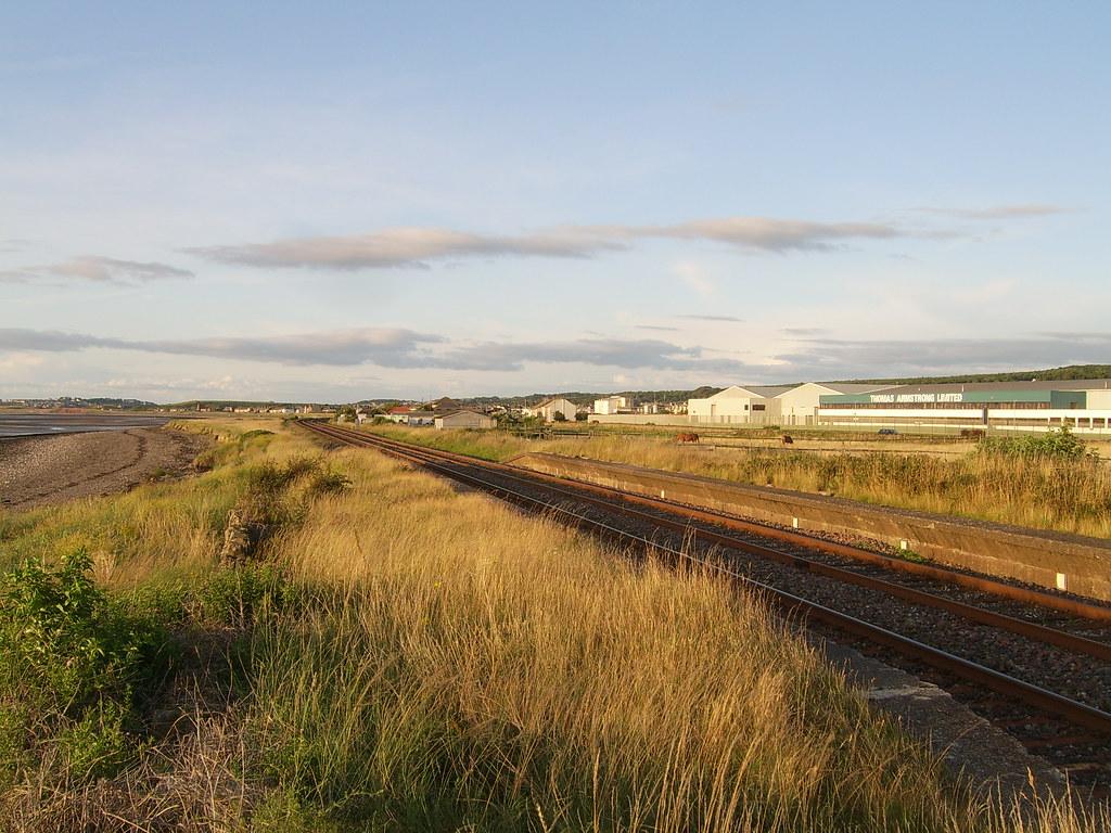 St Helen's Colliery Halt, Near Flimby Cumbrian Coast Line