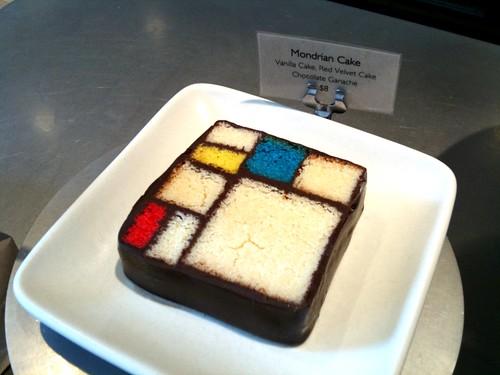 Mondrian Cake Sfmoma