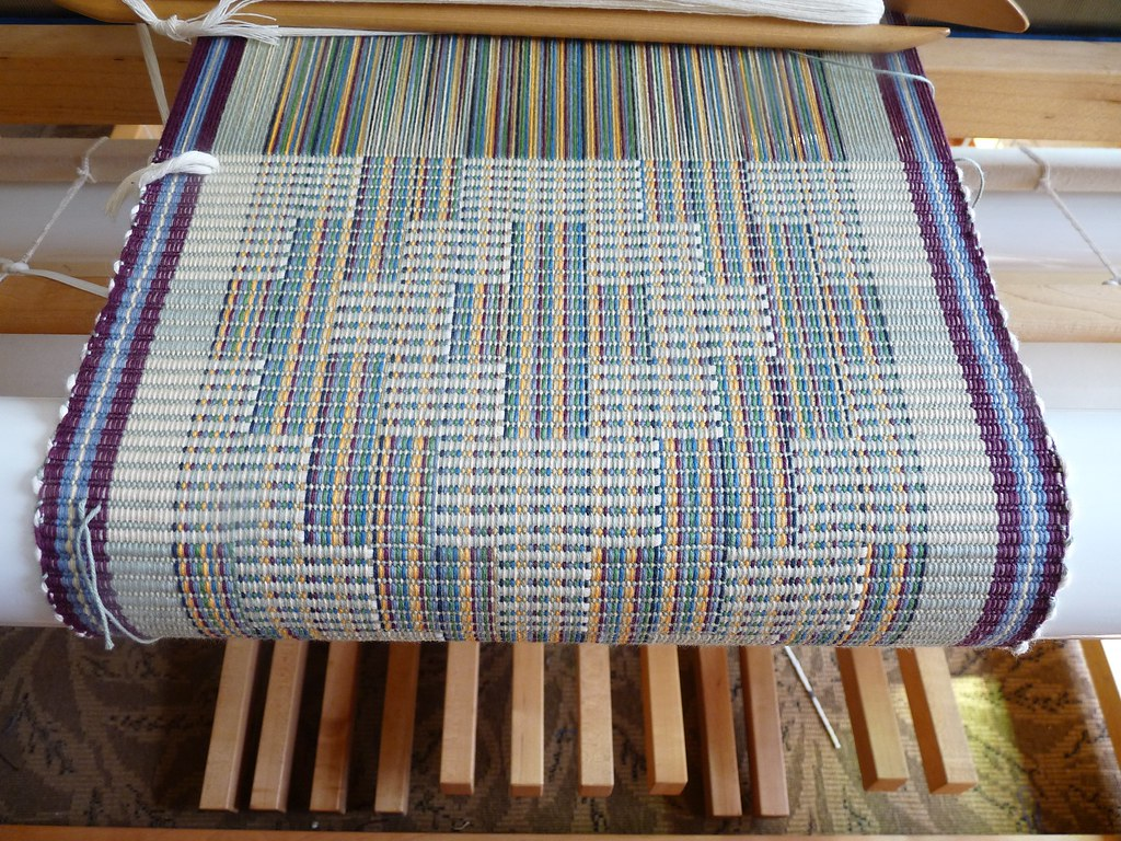 Rep Weave Placemats Rep Weaving Involves Heavy