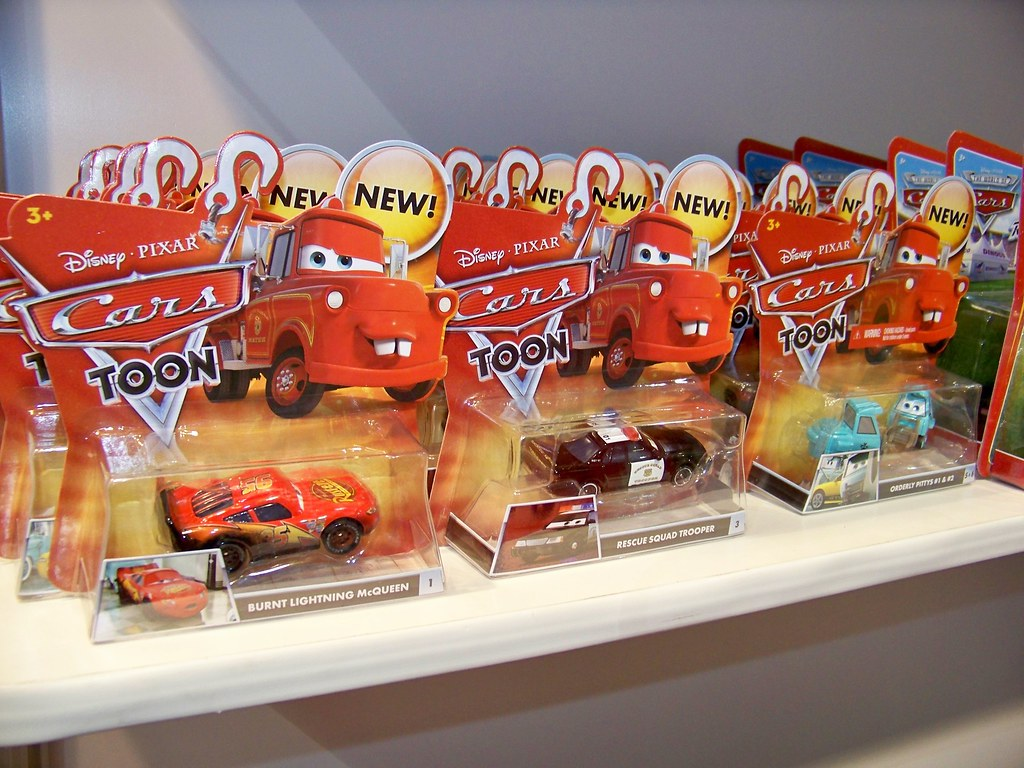 Cars  Toys Race Team Mater