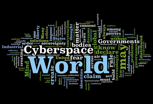 declaration of independence of cyberspace pdf