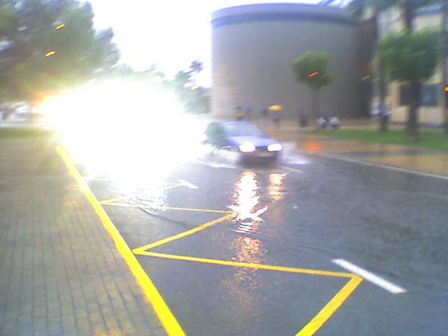 Ua universidad aguada 3 tras las lluvias del 28 9 09 for Piscina universidad alicante
