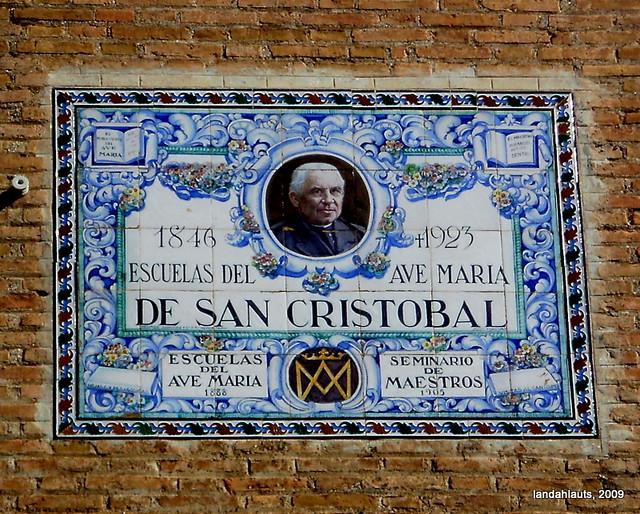 Azulejo de las escuelas del ave mar a de san crist bal gr for Azulejos express san cristobal