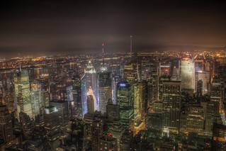 HDR - Times Square from Empire State Building 1 | by centanni