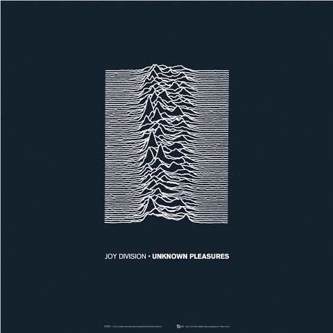 Joy Division album cover by Peter Saville | by subvertmag