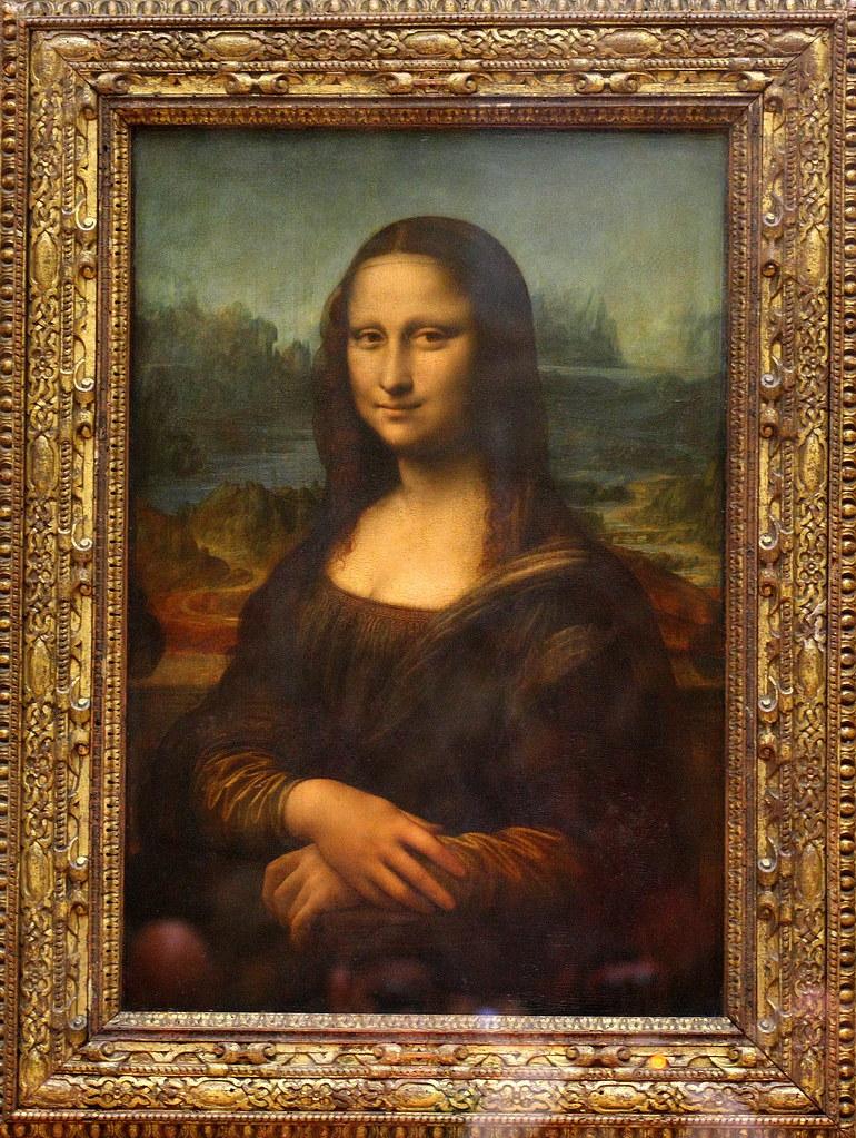 Leonardo di ser pietro da vinci dit l onard de vinci por for La gioconda di leonardo da vinci