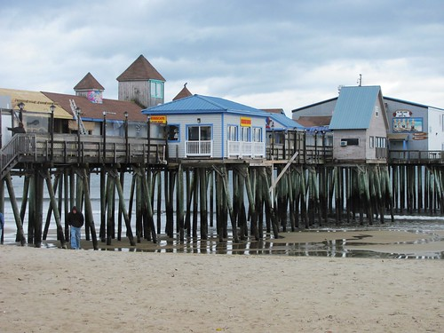 Old Orchard Beach Pier | by las - initially (Lori Semprevio)