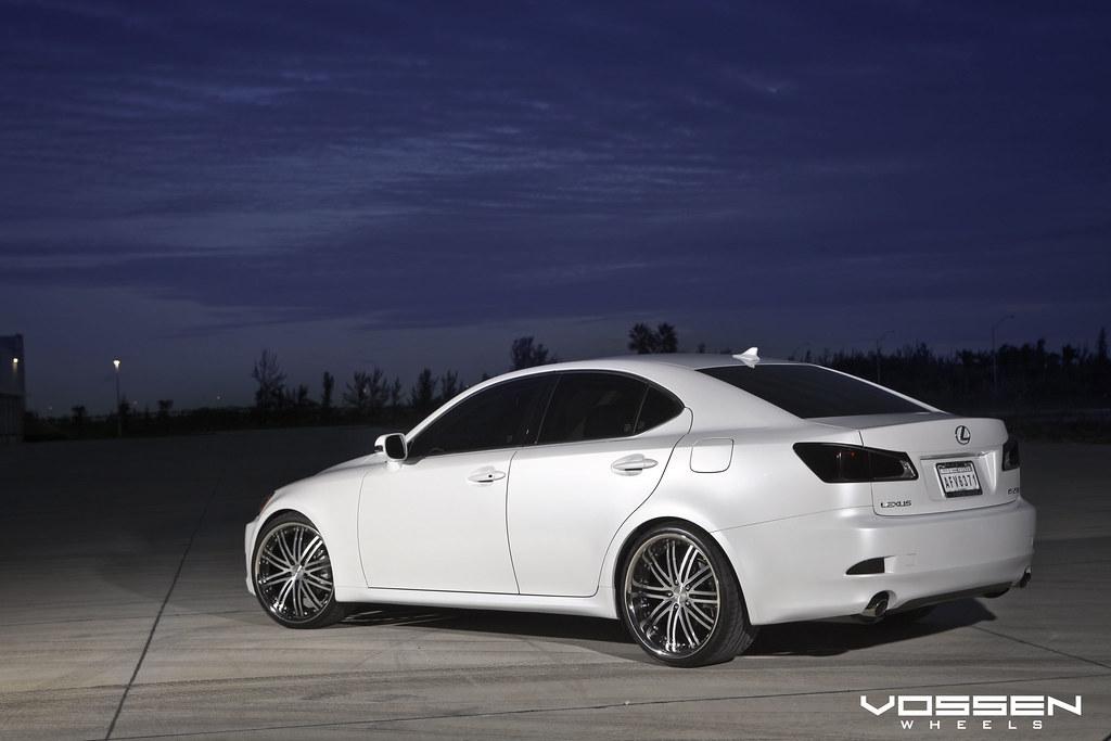 lexus is350 with vossen vvs082 wheels lexus is350 with