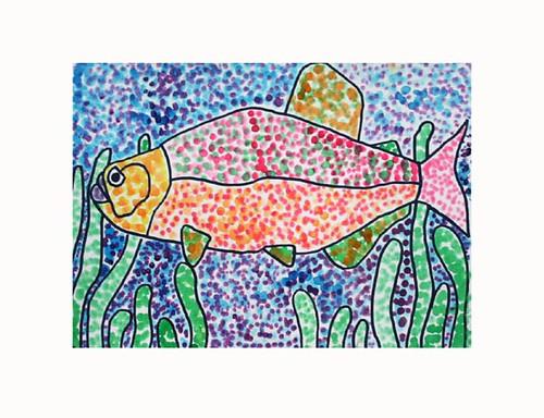 Dot Art Examples For Kids