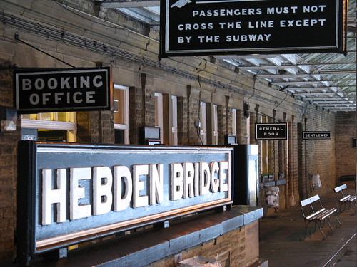 Hebden Bridge Railway Station | by Anders Hanson