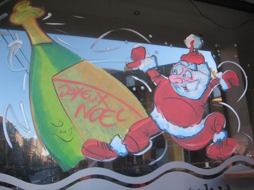 Le père Noël est un gros