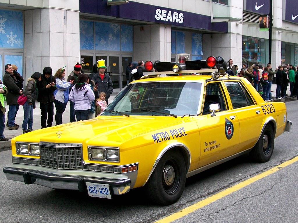 Vintage 1980\'s City Of Toronto Police Cruiser | ....Toronto ...
