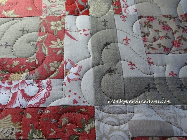 Diann's Quilt - Quilted by From My Carolina Home