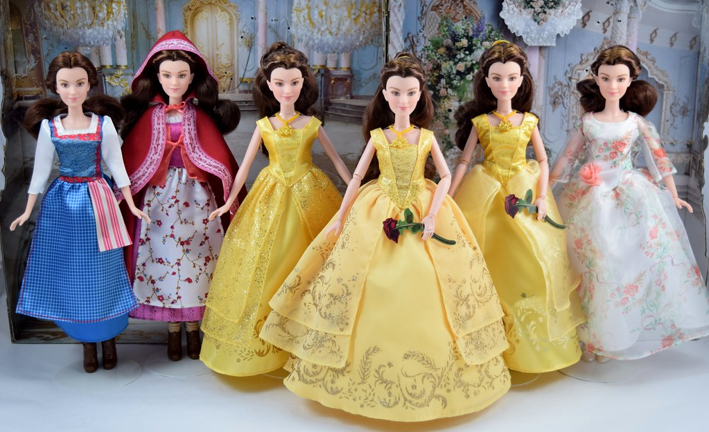 Hasbro Live Action Beauty And The Beast Belle Dolls