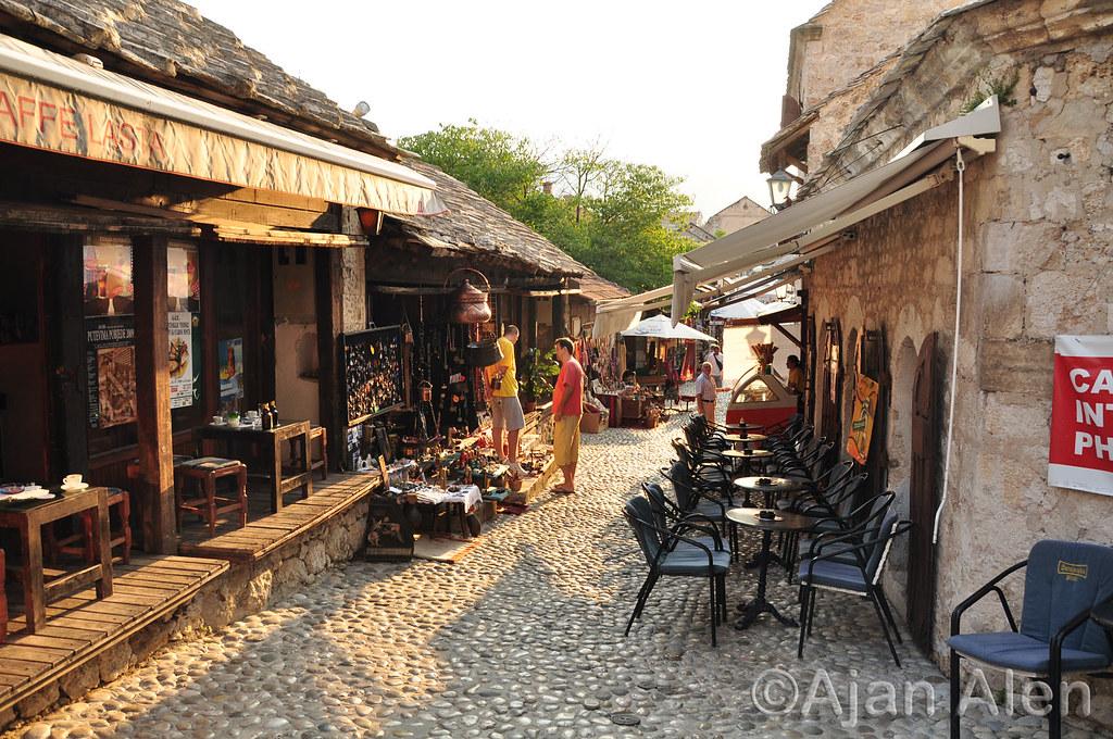 Slobodan Praljak Wiki >> Stara čaršija - Old bazaar Mostar | Mostar is a city and mun… | Flickr
