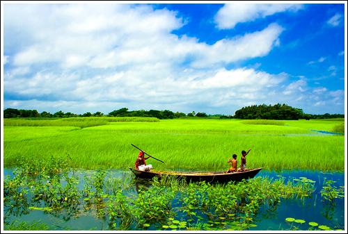In The Land Of Landscapes Vii Sonargaon Bangladesh
