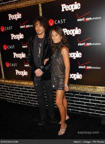 Chris Cornell and Vicky Karayiannis | 02/08/2008 - Chris Cor ...