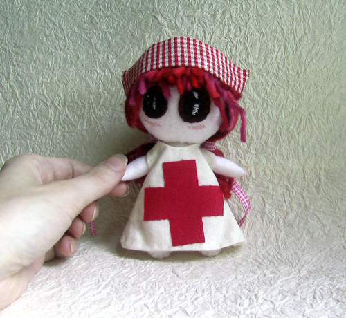 Cerise - Nurse Art Doll | by Recycled by Hyena