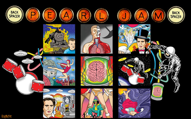 pearl jam backspacer wallpaper ver 1 backspacer album
