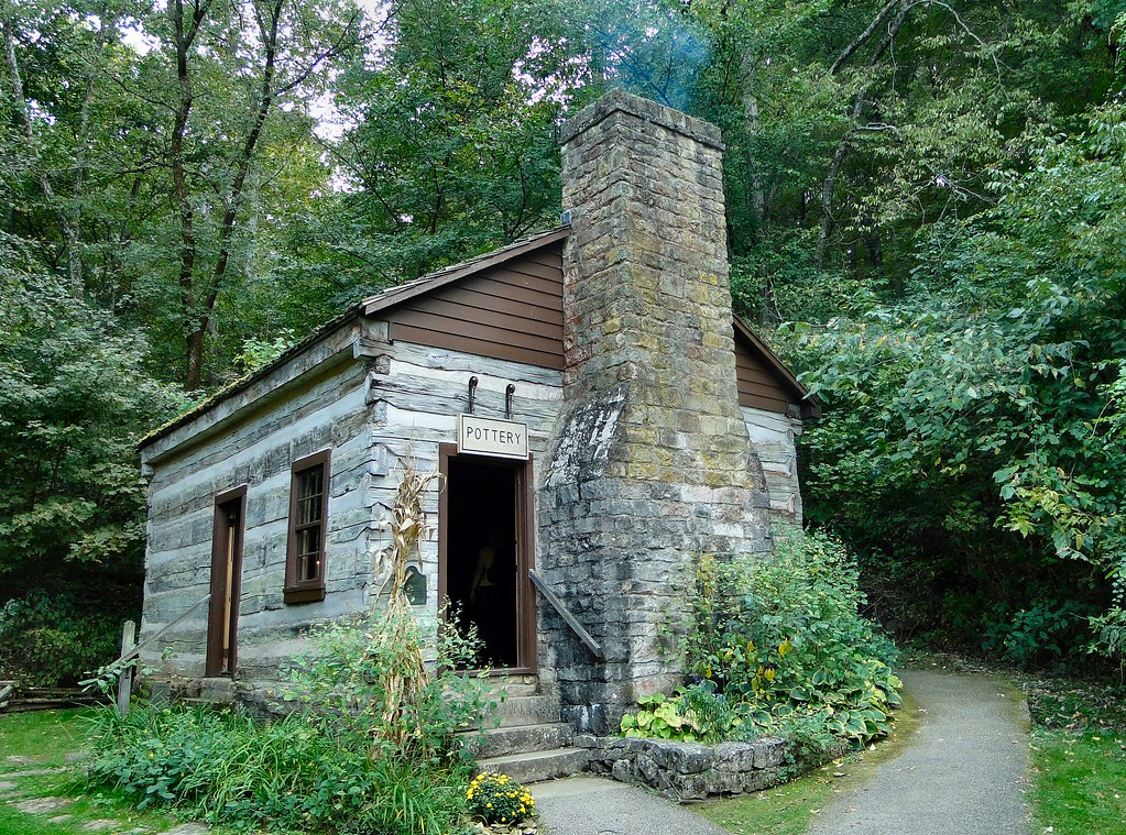 Pottery Cabin | One of the cabins at Spring Mill State ...