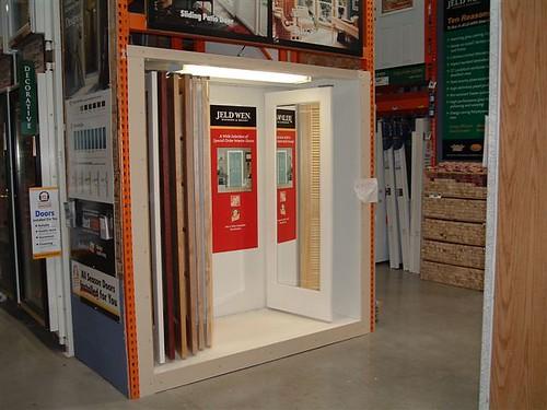 Jeld Wen Interior Door Display Home Depot Table