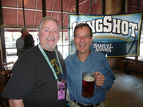 Me and Jim Koch | by jbrookston