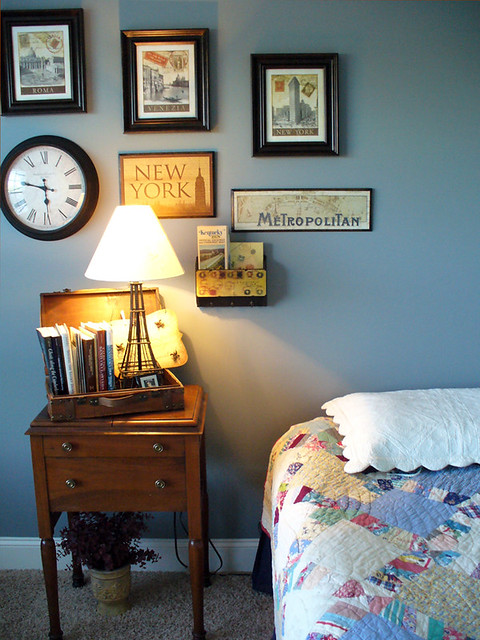 Travel Inspired Guest Room: The Beginnings Of A Travel Themed