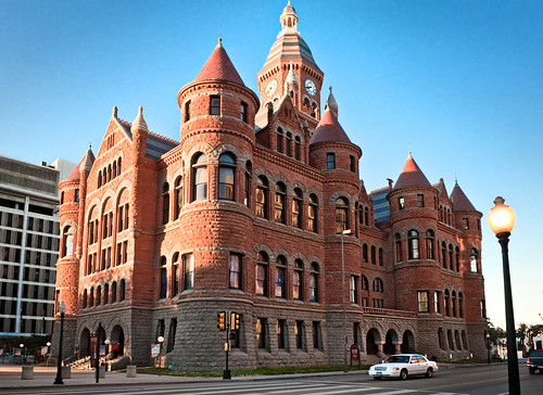 Old Red Courthouse 1892 Downtown Dallas Texas Quot Old