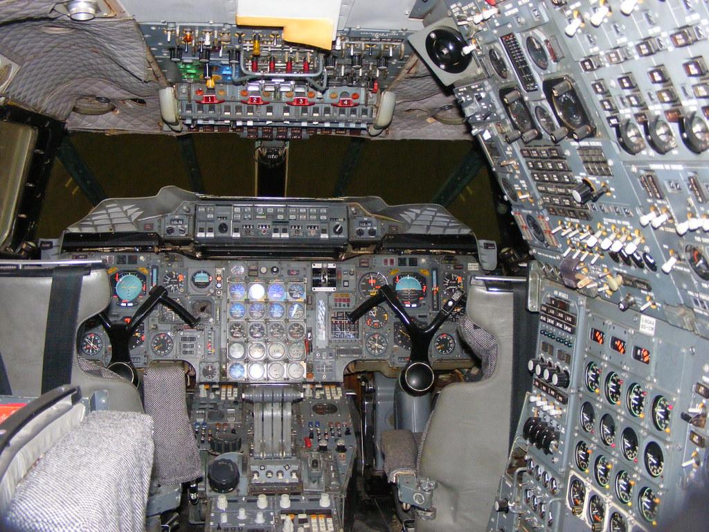 ... BAC Concorde G BOAA British Airways Cockpit Interior Scottish Museum Of  Flight | By Emdjt42