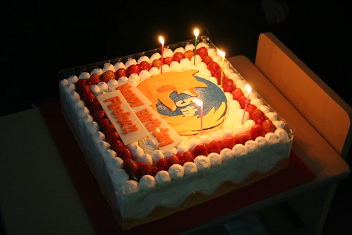 5 Years of Firefox Cake at Japan Developer Day | by Christopher Blizzard