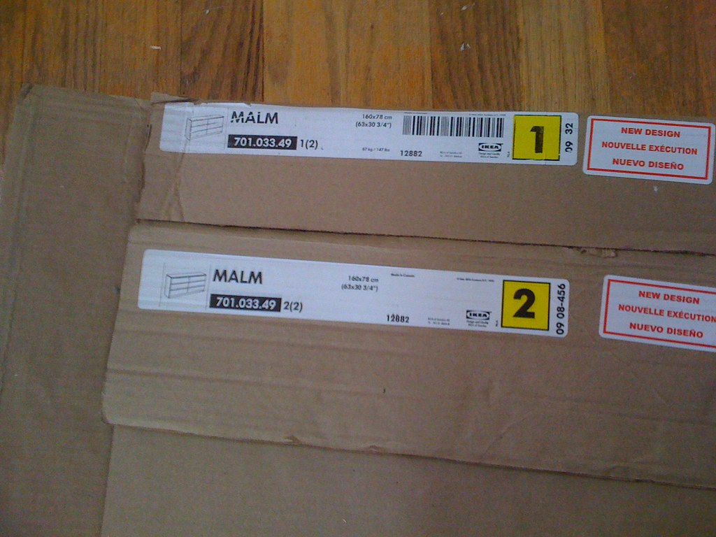 IKEA Malm 6 Drawer Dresser Assembly Step By Step