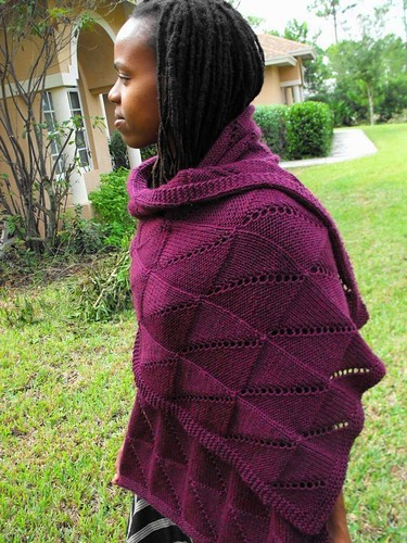 Hypoteneuse Shawl | by mamamarce