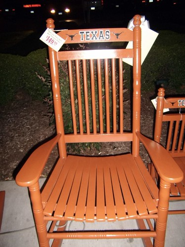 GO Texas Rocking Chairs For Sale Outside The Cracker Barr Sheldon Sherm