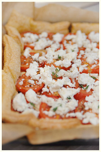 Tomato, Goat Cheese and Onion Tart | © All rights reserved ...