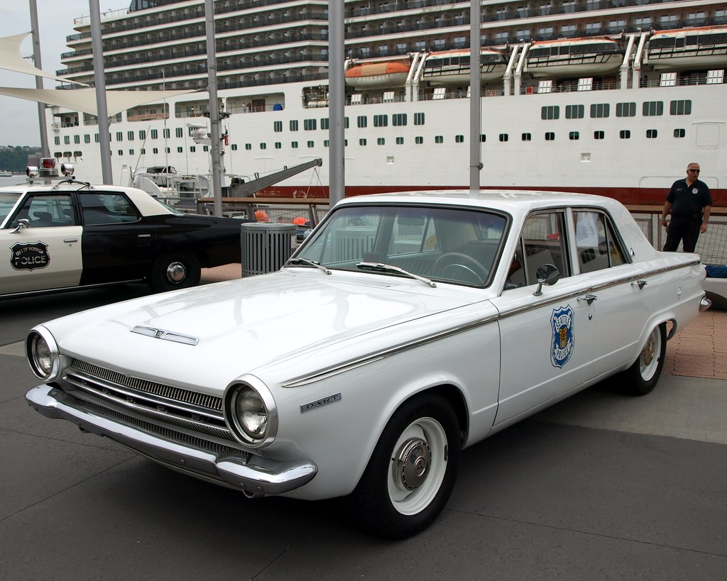 vintage 1964 dodge dart seattle police car new york city. Black Bedroom Furniture Sets. Home Design Ideas