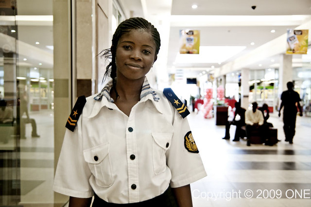 Security Guard at Accra Mall | Photograph taken by Morgana W… | Flickr