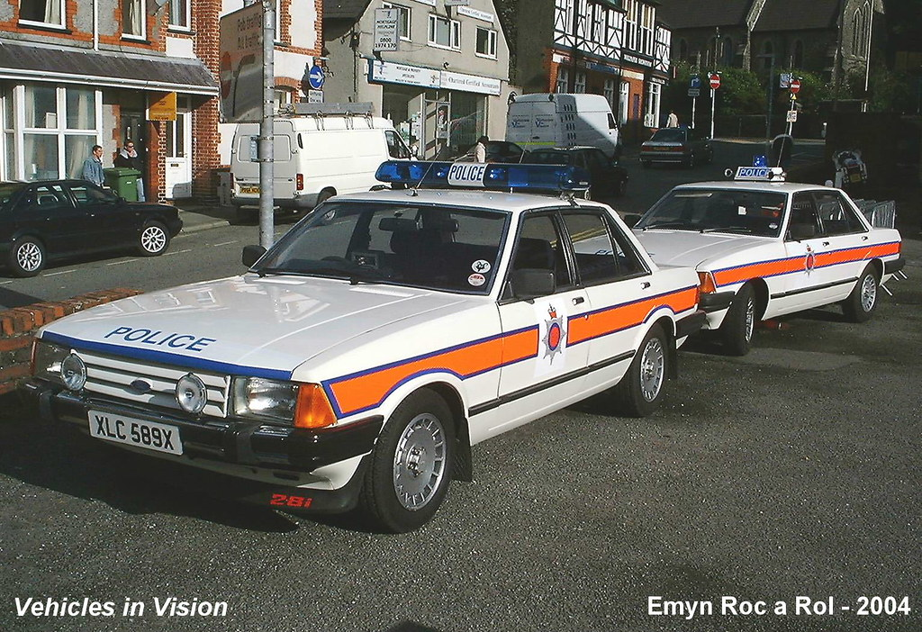 Old Police Car Ford
