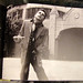 Same Jacket #1: Ian Dury on Bela Lugosi's estate Hollywood 1978