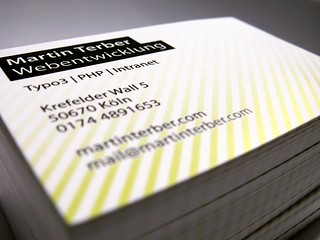 My Business Cards 2009 | by Martin Terber