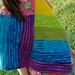 wip wednesday :: rainbow poncho